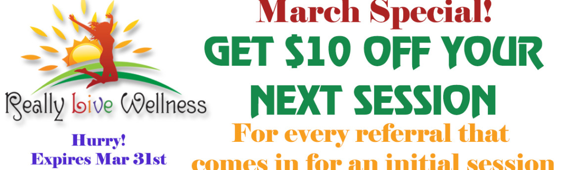 March Special: Get $10 Off For Your Referrals