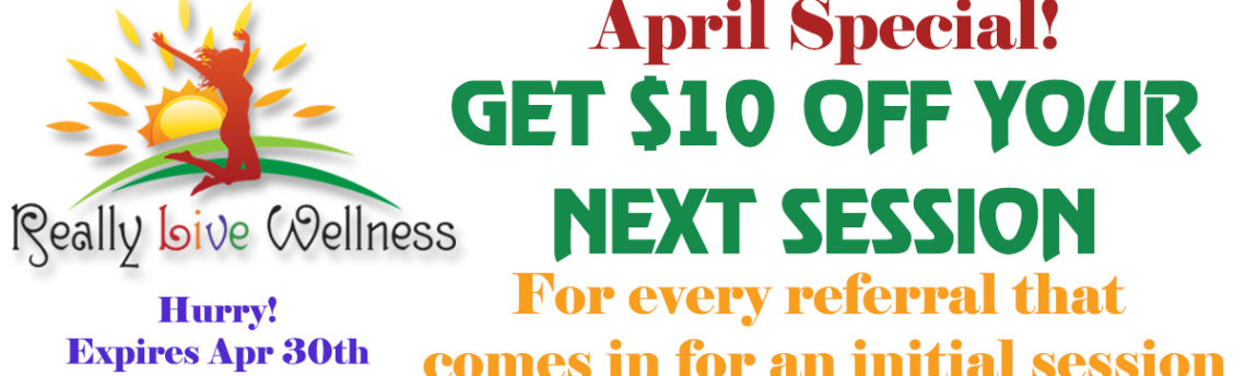 April Special: Get $10 Off For Your Referrals