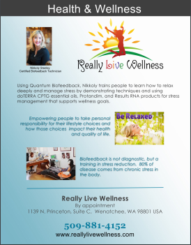 Really Live Wellness FLYER